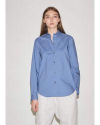 Sofie D'Hoore - Back Cotton Poplin Shirt - Lyst