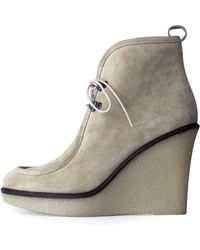 3.1 Phillip Lim - Csl Willow Lace-up Wedge - Lyst