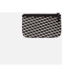 Pierre Hardy | Small Maroquinerie Canvas Cube Pouch | Lyst