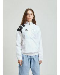 Gosha Rubchinskiy - Adidas Zip Collar Jacket - Lyst