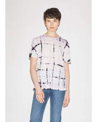 Proenza Schouler - Tie Dye Tissue Jersey T-shirt - Lyst