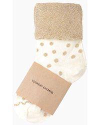 Tsumori Chisato | Glitter Dot Socks | Lyst