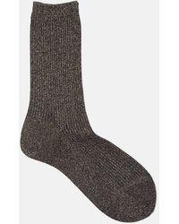 Rachel Comey - Metallic Rib Sock - Lyst