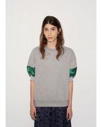 Kolor - Cuff Sweatshirt Top - Lyst