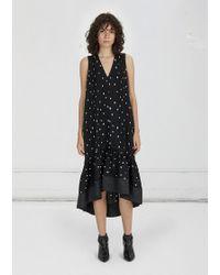 3.1 Phillip Lim - Printed Drop Waist Dress - Lyst