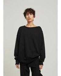 Ann Demeulemeester | Tony Oversized Sweatshirt | Lyst