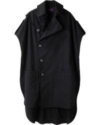 Y's Yohji Yamamoto - No Sleeve Coat - Lyst