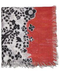 Tsumori Chisato - Mixed Print Scarf - Lyst