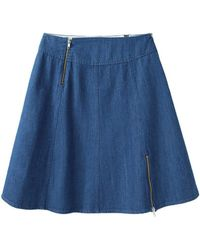Boy by Band of Outsiders - Denim Skirt - Lyst