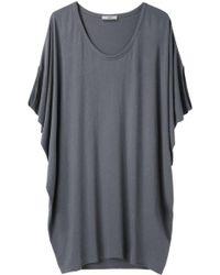 Helmut - Feather Jersey Cocoon Dress - Lyst