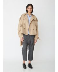 R13 - Tuck-in Trench Coat - Lyst