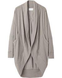 Tsumori Chisato - Double Jersey Cocoon Cardigan - Lyst