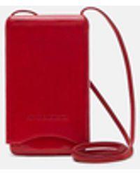 Ann Demeulemeester - Molded Leather Phone Case - Lyst