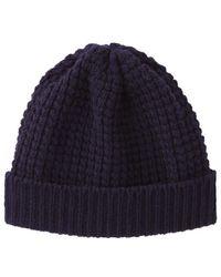 Peter Jensen   Waffle Knit Hat   Lyst