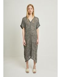 Black Crane - Kaftan Dress - Lyst