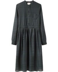Boy by Band of Outsiders - Baby Doll Plaid Dress - Lyst