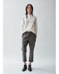 Hope - News Linen Cotton Trousers - Lyst