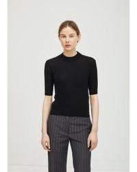 Ter Et Bantine - Wool Mock Neck Sweater - Lyst