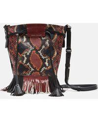 Isabel Marant - Askiah Exotic Printed Bag - Lyst