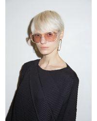 Céline - Translucent Acetate Sunglasses - Lyst