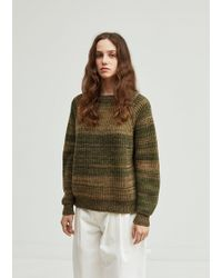 Gosha Rubchinskiy - Speckled Wool Sweater - Lyst