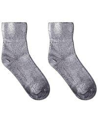 Golden Goose Deluxe Brand - Silver Chelsea Sock - Lyst