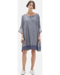 Péro - Checkered Tassel Dress - Lyst