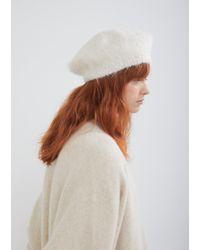 Lauren Manoogian - Alpaca Wool Beret - Lyst