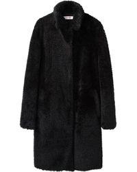 Organic By John Patrick - Teddy Fur Coat - Lyst