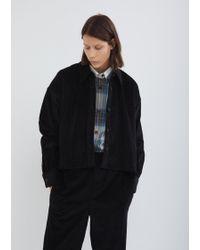Isabel Marant - Hanao Button Front Corduroy Shirt - Lyst