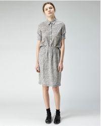 Peter Jensen - Printed Slip Skirt - Lyst
