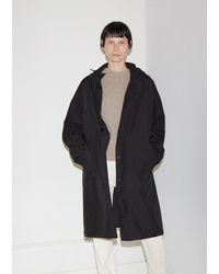 Helmut Lang - Recycled Nylon Hooded Raincoat - Lyst
