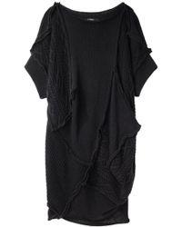 Limi Feu - Oversize Patchwork Knit - Lyst