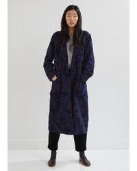 Blue Blue Japan - Gobelin Paisley Smoking Gown Coat - Lyst