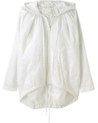 Girl by Band of Outsiders - Cecile Embroidered Parka - Lyst