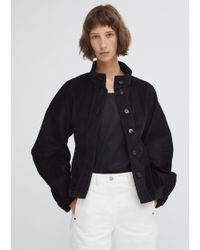 Lemaire - Wide Sleeve Corduroy Jacket - Lyst