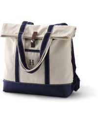 Lands' End - Convertible Canvas Backpack - Lyst