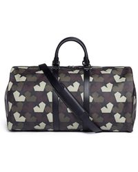 Ports 1961 - Camouflage Star-Print Faux-Leather Duffle Bag - Lyst