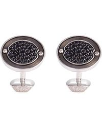Stephen Webster - 'england Made Me' Lapis Rhodium Silver Cufflinks - Lyst