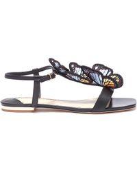Sophia Webster - 'riva' Butterfly Appliqué Leather Sandals - Lyst