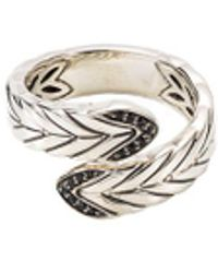 John Hardy - Spinel Silver Bypass Ring - Lyst
