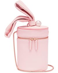 fd42661c96c3 Sophia Webster - 'bonnie' Faux Pearl Leather Crossbody Bucket Bag - Lyst