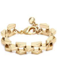 Lulu Frost - 'rumba' Geometric Link Chain Bracelet - Lyst
