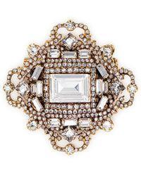Erickson Beamon - 'fantastic Voyage' Swarovski Crystal Brooch - Lyst