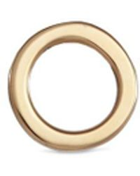 Loquet London - 'o' 14k Yellow Gold Single Stud Earring – Give A Hug - Lyst