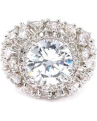CZ by Kenneth Jay Lane - Cubic Zirconia Ring - Lyst