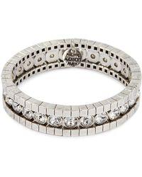 Philippe Audibert - 'lili' Swarovski Crystal Stretch Bracelet - Lyst