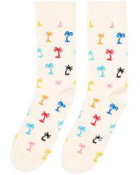 Happy Socks - Palm Beach Socks - Lyst