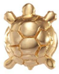 Loquet London - 'turtle' 18k Yellow Gold Charm – Wisdom - Lyst