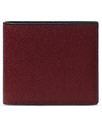 Valextra - Leather Bifold Wallet - Lyst